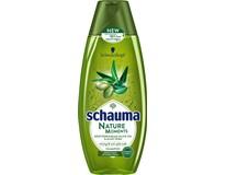 Schauma Nature Moments olivový olej a aloe vera šampón na vlasy 1x400 ml