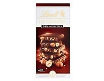 Lindt Grandes Čokoláda horká lieskový orech 1x150 g
