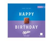 Milka Happy Birthday čokoládové pralinky 1x110 g