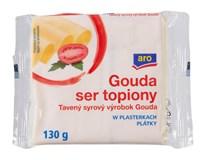 ARO Gouda tavený syr plátky chlad. 4x130 g