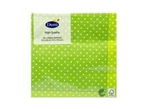 Servítky papierové Brook Green 3-vrstvové 24cm Duni 20ks