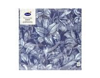 Servítky papierové Firenze Blue 3-vrstvové 40cm Duni 12ks