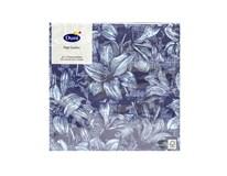 Servítky papierové Firenze Blue 3-vrstvové 33cm Duni 20ks