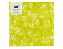Servítky papierové Firenze Lime 3-vrstvové 40cm Duni 12ks