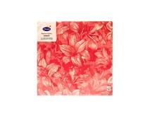 Servítky papierové Firenze Pink 3-vrstvové 40cm Duni 12ks