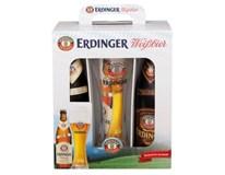 Erdinger pivo mixpack 2x500 ml SKLO + pohár
