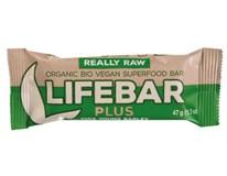 Lifebar plus tyčinka mladý jačmeň a chia BIO 1x47 g