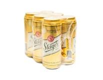 Steiger pivo 12° 6x500ml PLECH