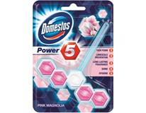 Domestos Power 5 Pink Magnolia WC blok 1x55 g