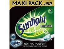 Sunlight All in One Extra Power tablety do umývačky riadu 1x52 ks