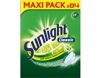 Sunlight Classic Regular tablety do umývačky riadu 1x84 ks