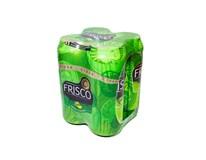 Frisco cider jablko-citrón 4x500 ml PLECH