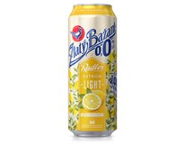 Zlatý Bažant pivo nealkoholické radler light 0,0% citrón 6x500 ml PLECH