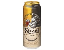Velkopopovický Kozel pivo polotmavé 6x500 ml PLECH