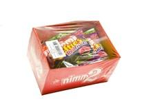 Nimm2 Smile gummi červené ovocné cukríky 9x90 g
