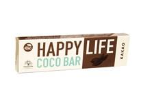 Happylife Tyčinka kokosová s kakaom BIO 1x40 g