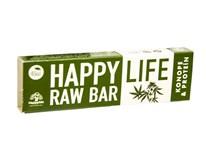 Happylife Tyčinka konopná s proteínom BIO&RAW 1x42 g