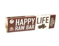 Happylife Tyčinka mandľová s kakaovými bôbami BIO&RAW 1x42 g