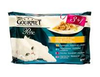 Gourmet Perle šťava a želé pre mačky 4x85 g