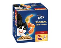 Felix Sensations krmivo pre mačky 24x100 g