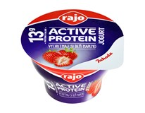 Rajo Active Protein Jogurt jahoda chlad. 1x180 g