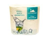 Harmony Kuchynské utierky ultra absorbčné 3-vrstvové 1x2 ks