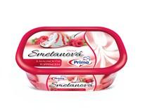 Prima Smotanová s malinovým toppingom zmrzlina mraz. 1x900 ml
