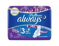 Always platinum night dámske vložky 1x6 ks