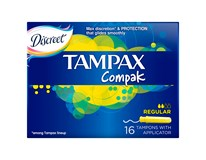 Tampax tampóny Compak Regular 1x16 ks