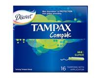 Tampax tampóny Compak Super 1x16 ks