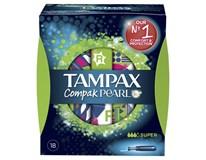 Tampax tampóny Compak Pearl Super 1x18 ks