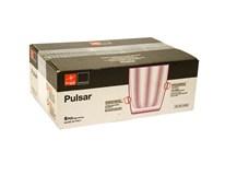 Pohár Pulsar fialový 300ml Vetro-Plus 6ks