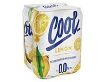 Staropramen Cool pivo nealkoholické citrón 4x500 ml PLECH