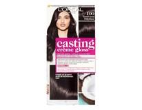 L'Oréal farba na vlasy Casting Creme Gloss 100 temne čierna  1ks