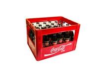 Coca Cola zero citrón 24x330 ml SKLO vratná fľaša