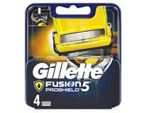 Gillette Fusion Proshield náhradné hlavice 1x4 ks