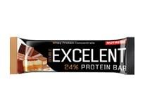 Excelent Protein Bar tyčinka double čokoláda s nugátom a brusnicami 1x85 g