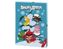 Adventný kalendár Angry Birds mliečna čokoláda 1x75 g