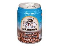 Mr.Brown vanilla ľadová káva 6x250 ml PLECH