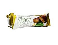 Tekmar Vegan Protein tyčinka čokoláda a mandarínky 4x40 g