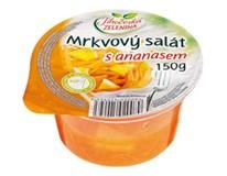 Jihočeská zelenina Mrkvový šalát s ananásom chlad. 1x150 g