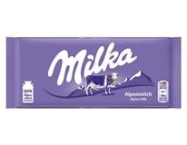 Milka Alpine/mliečna tabuľková čokoláda 12x100 g
