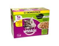 Whiskas casserole mix výber pre mačky 12x100 g