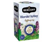 Bercoff Horské byliny bylinný čaj 3x40 g