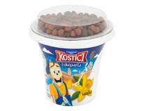 Danone Kostíci Čokoparta Jogurt vanilkový s čoko guličkami chlad. 10x107 g
