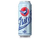 Zlatý Bažant pivo nealkoholické 0,0% 4x500 ml PLECH