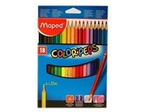 Pastelky trojhranné color Maped 18ks
