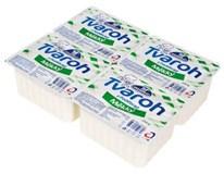 Milko Tvaroh mäkký bez tuku chlad. 4x250 g
