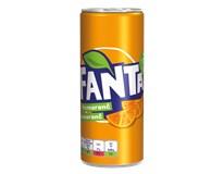 Fanta orange limonáda 24x250 ml PLECH