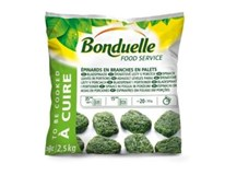 Bonduelle Špenát listový porcie mraz. 1x2,5 kg